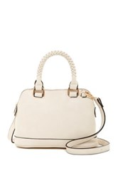 Urban Expressions Kensington Convertible Satchel White