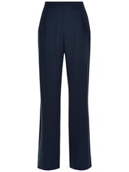 Jaeger City Palazzo Trousers Navy