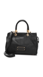 Marc By Marc Jacobs Too Hot To Handle Satchel Black