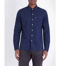 Levi's Sunset Slim Fit Denim Shirt Indigo Slub