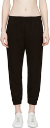 Mother Of Pearl Black Waffle Knit Reece Trousers
