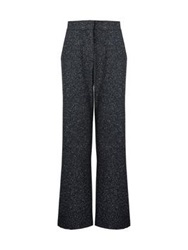 Whistles Donegal Wide Leg Trouser Charcoal