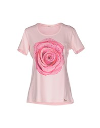 Ean 13 Topwear T Shirts Women Light Pink