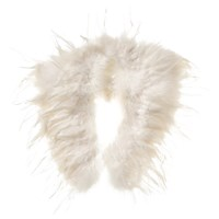 Phase Eight Frederica Feather Cape Ivory