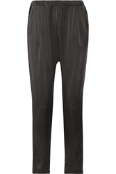 Clu Washed Silk Tapered Pants