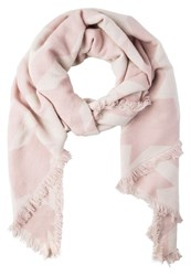 Evenandodd Scarf Rose White