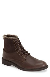 Men's Robert Wayne 'Blaze' Plain Toe Boot Textured Rust
