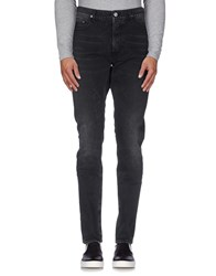 April 77 Denim Denim Trousers Men Black