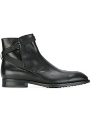 Tod's Casual Desert Boots Black