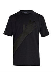 Lanvin Satin Hand Cotton Jersey T Shirt