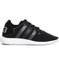 Adidas Y3 Yohji Run Trainers Black White