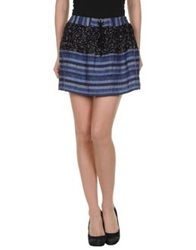 Gryphon Mini Skirts Dark Blue