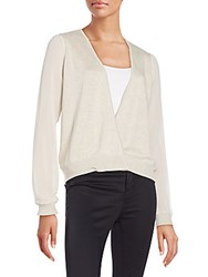 Bcbgeneration V Neck Casual Sweater Heather Nude