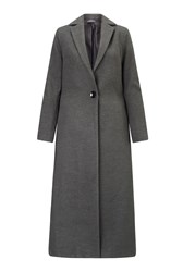 James Lakeland Long One Button Coat Grey