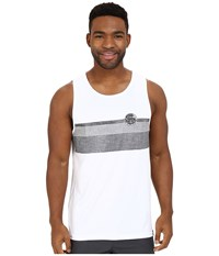 Rip Curl Surf Craft Tank Top White Men's Swimwear