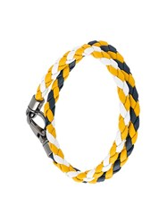Tod's Double Braclet Yellow And Orange