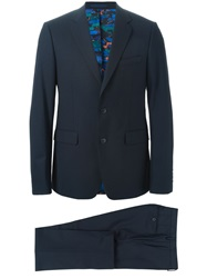 Kenzo Formal Two Piece Suit Blue