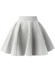 Philipp Plein 'Model' Skirt Grey