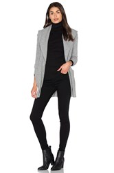 White Warren Shawl Cardigan Gray