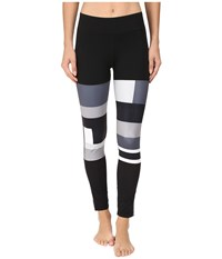 Adidas Sport Dna Wow Tights Black Print Women's Workout Multi