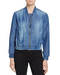 Bella Dahl Chambray Bomber Jacket 100 Bloomingdale's Exclusive