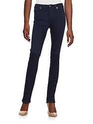 7 For All Mankind Kimmie Slim Illusion Luxe Straight Leg Jeans Sil Rinse