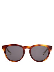 Christian Dior Blacktie 212S D Frame Sunglasses Brown Multi