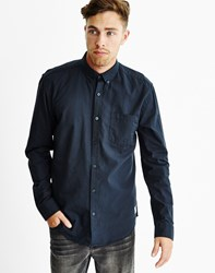 Only And Sons Mens Long Sleeve Shirt Blue