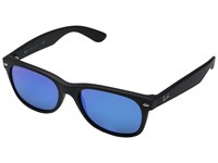 Ray Ban Rb2132 New Wayfarer 55Mm Rubber Black Fashion Sunglasses