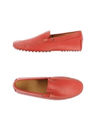 Tod's Moccasins Red