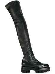 Alyx Thigh High Boots Black