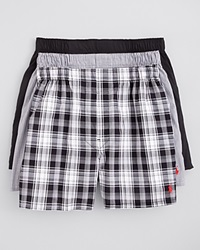 Polo Ralph Lauren Boxers Pack Of 3 Black Multi