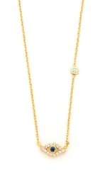 Tai Evil Eye Necklace Gold Multi