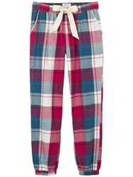 Fat Face Buffalo Check Cuffed Pyjama Bottoms Multi