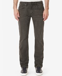 Buffalo David Bitton Men's Evan X Stretch Jeans Colorful And Bleached Charcoal