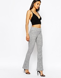 River Island Jersey Flare Legging Grey