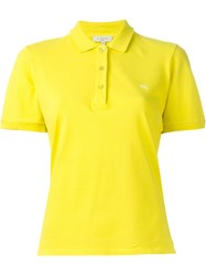 Etro Classic Polo Shirt Yellow And Orange