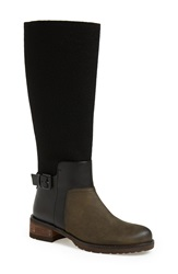 Elie Tahari 'Marvel' Tall Boot Women Forest Suede