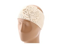 San Diego Hat Company Rec1006 Recyled Yarn Flower Headband Ivory Traditional Hats White