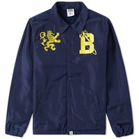 Billionaire Boys Club Crest Coach Jacket Blue