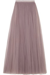 Needle And Thread Tulle Maxi Skirt Lavender
