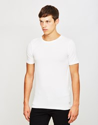 Only And Sons Mood Muscle O Neck T Shirt White