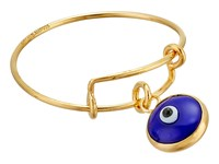 Alex And Ani Evil Eye Expandable Wire Ring 14Kt Gold Plated Ring