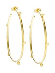 Anna Nina Bauble Hoops Gold Plated One Colour