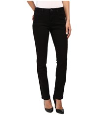 Jag Jeans Portia Straight Platinum Denim In Black Black Women's