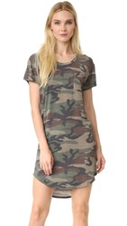 Haute Hippie T Shirt Dress Camo