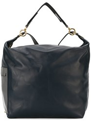 Marni Colour Block Convertible Backpack Black