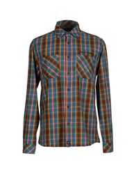 Deus Ex Machina Shirts Shirts Men Deep Jade