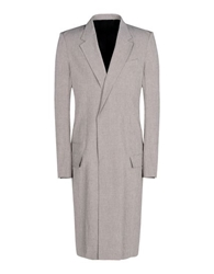 Haider Ackermann Full Length Jacket Beige
