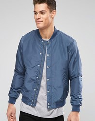 Esprit Bomber Jacket Gray Blue